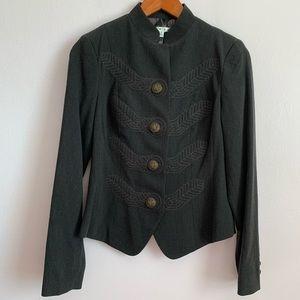 CABI women's jacket Military Style Sz 2